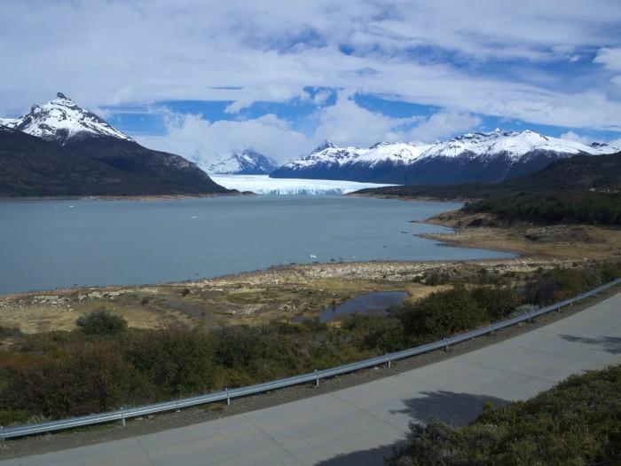 A l'approche du Glacier Perito Moreno