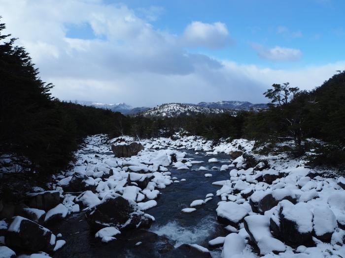 Torres del Paine sous la neige
