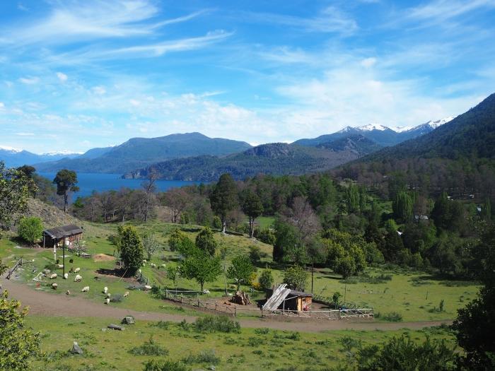 San Martin de los Andes - petite ferme perdue qui donne envie