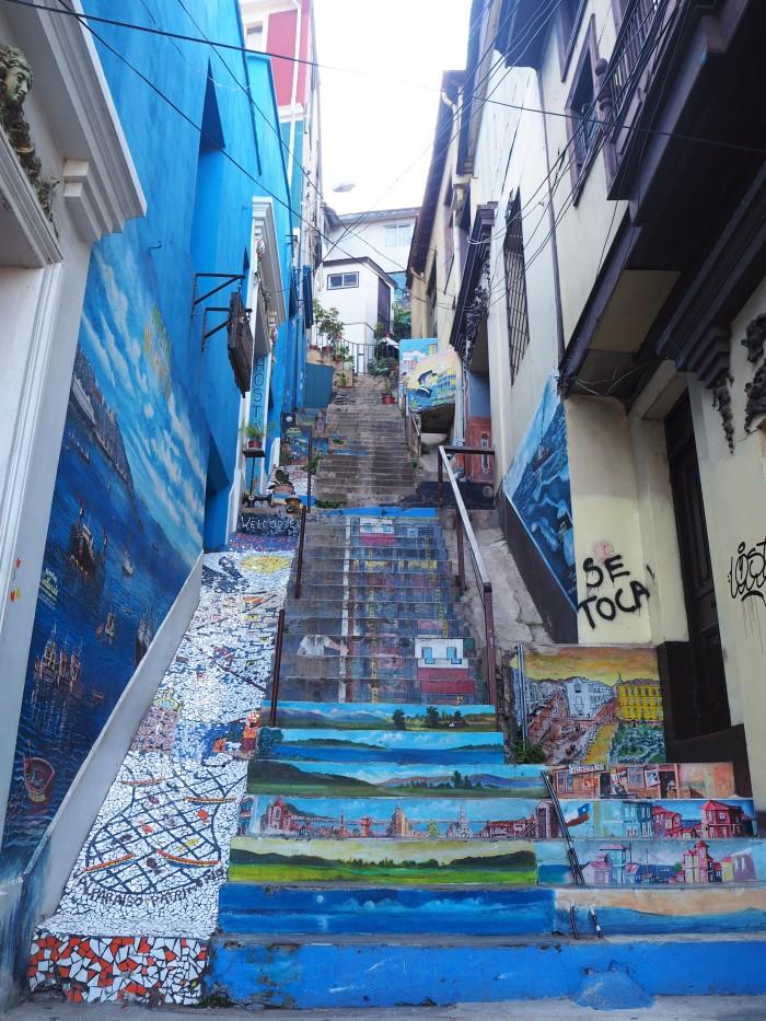 Valparaiso, ça monte, ça descend, ça monte...