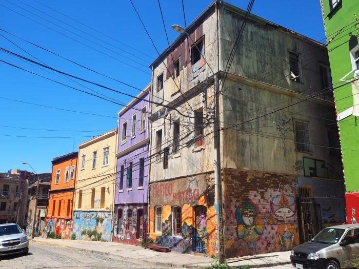 Valparaiso et ses couleurs