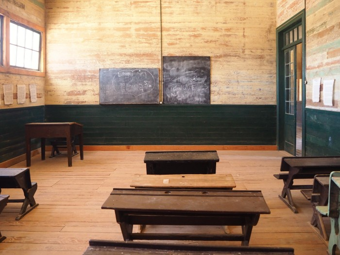 Thumberstone - Salle de classe