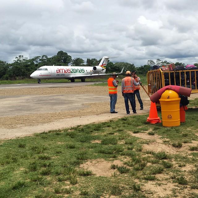 l'aéroport de Rurrenabaque