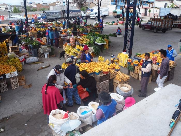 Marché de Saquisilí
