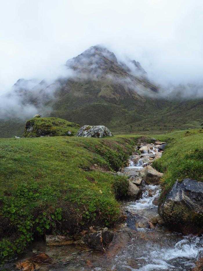 2è jour du trek. C'est beau je veux vivre là!