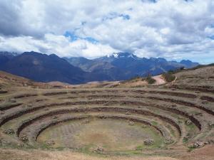 Moray. Les Incas sont passés par là (ou alors des aliens, peut-être?)