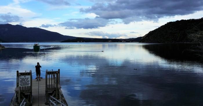 Lac Rotomahana - Waimangu
