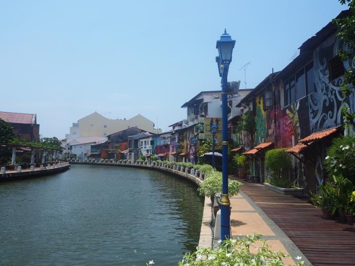 Au bord de la rivière - Melaka